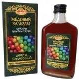 Бальзам медовый Иммуно-витаминный Медовый Край 250 мл