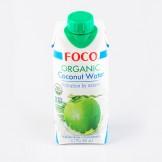 """Вода кокосовая органик 100% """"FOCO"""" 330 мл"""