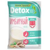 Кисель detox bio SLIM имбирный Компас Здоровья (кратно 10) 25 гр
